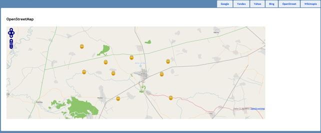 OpenStreet карта