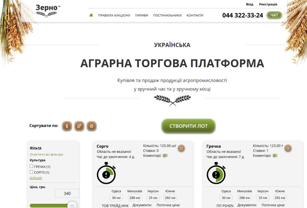 Разработка веб-аукциона