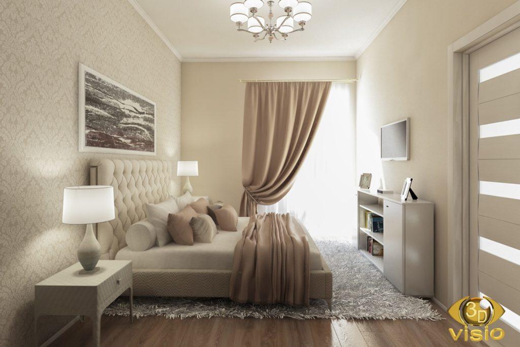 Визуализация спальной