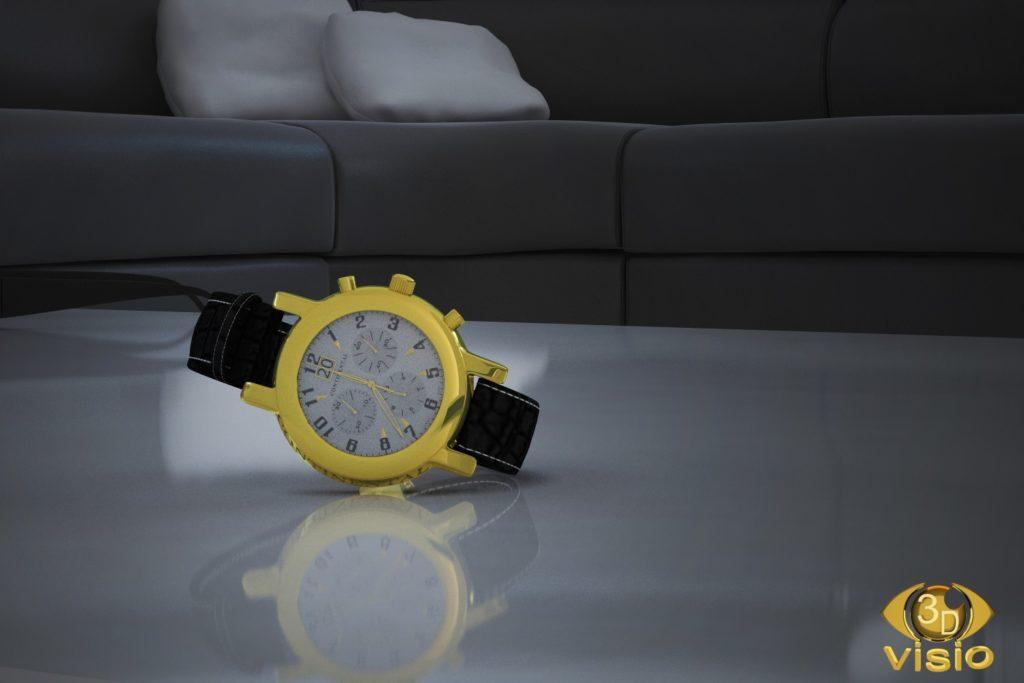 Предметная визуализация швейцарских часов