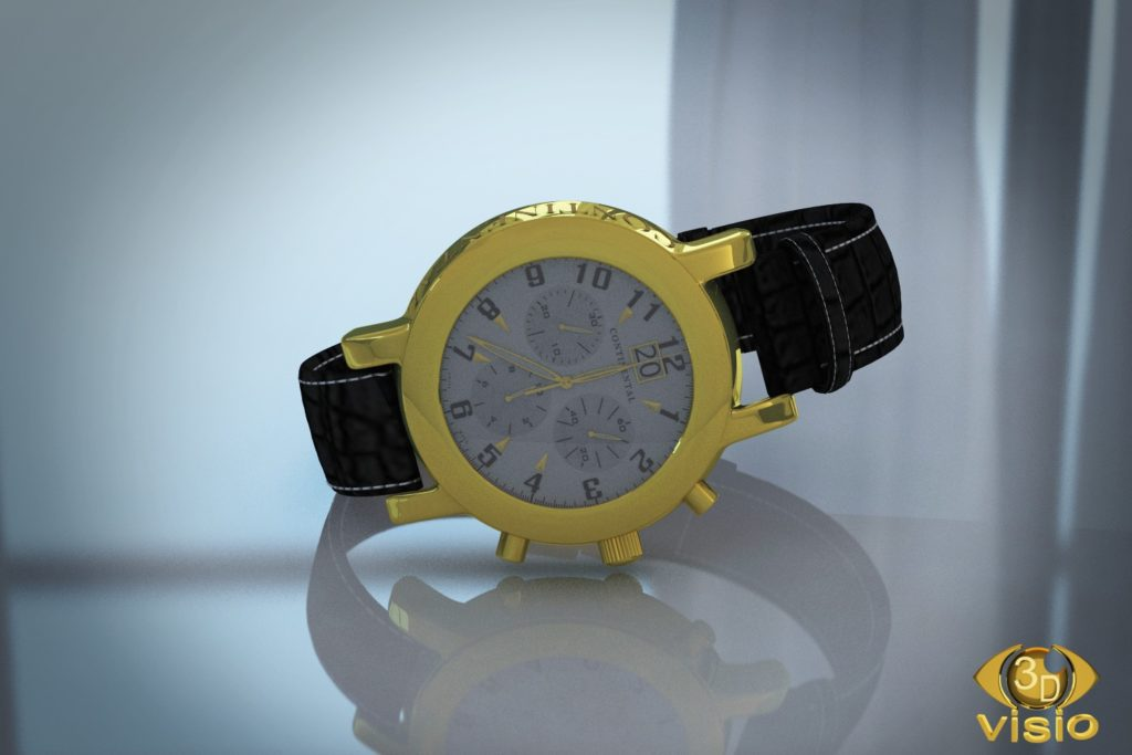 Предметная визуализация часов Continental