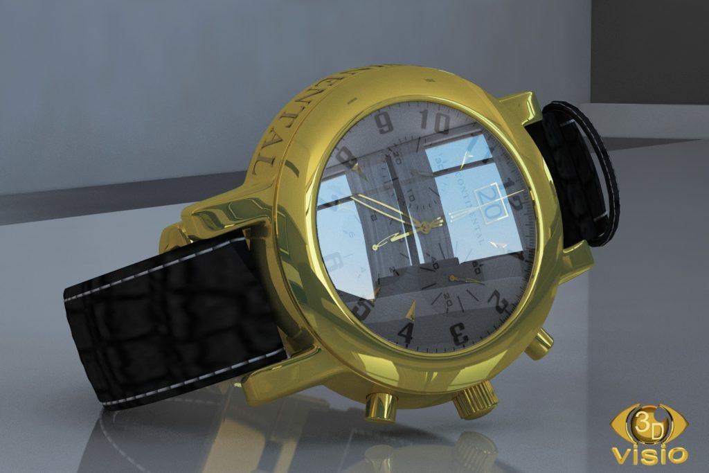 Предметная визуализация часов