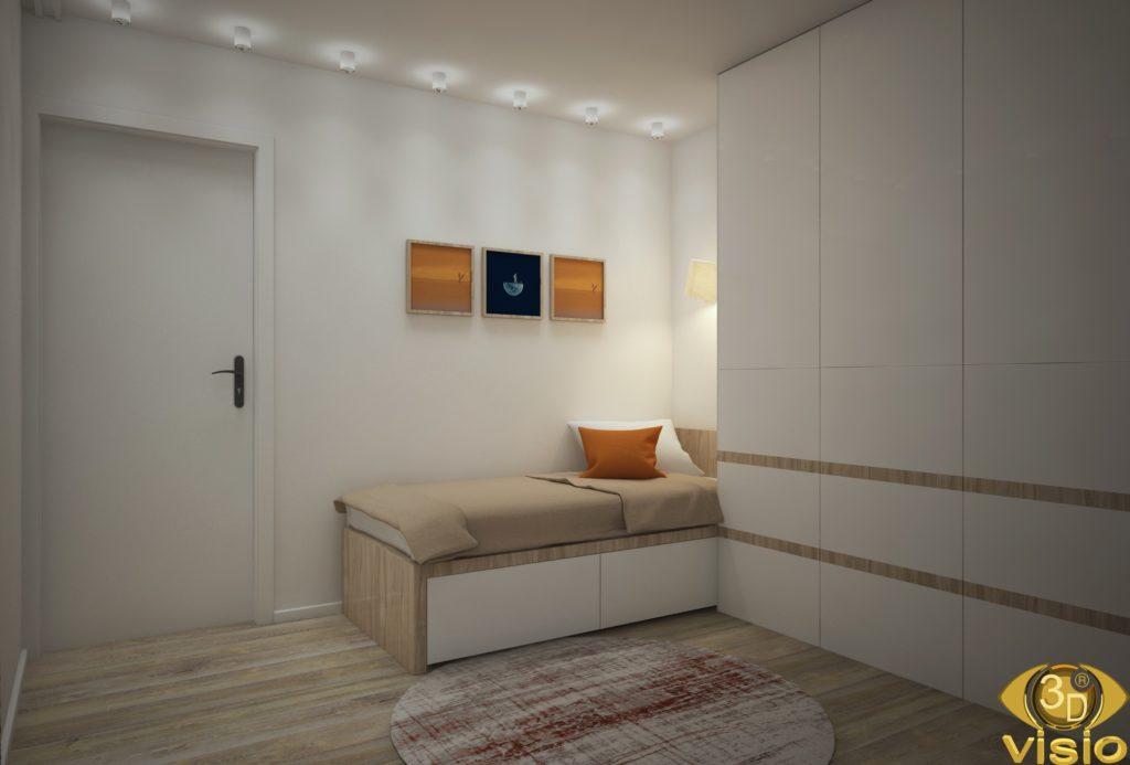 Визуализация комнаты в Австрии