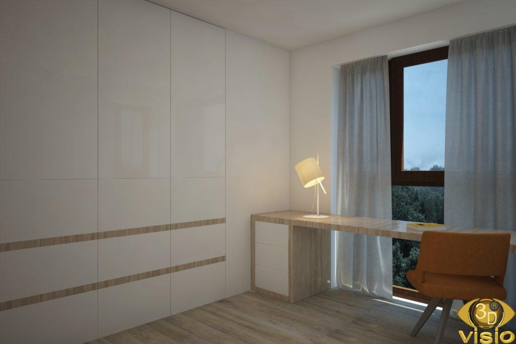 3D-визуализация комнаты, Австрия