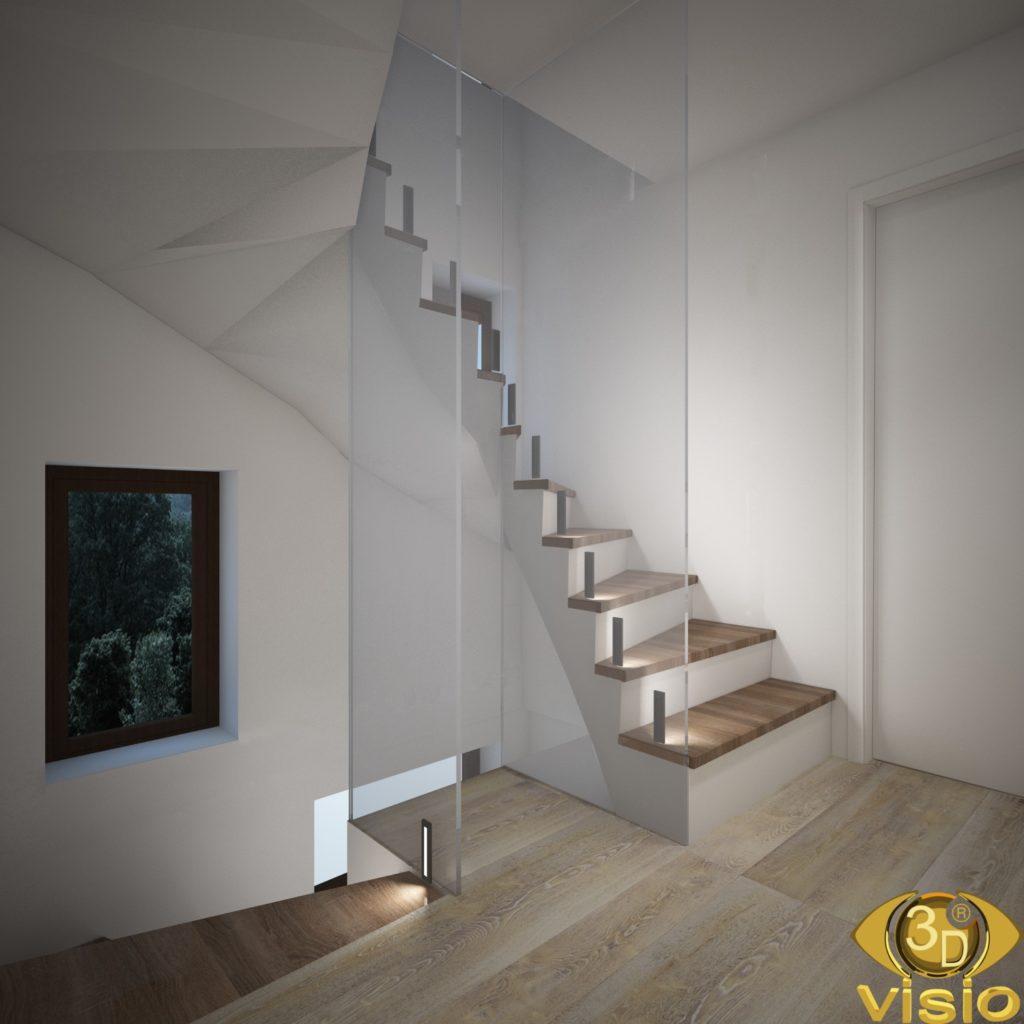 Визуализация коридора в доме Австрии