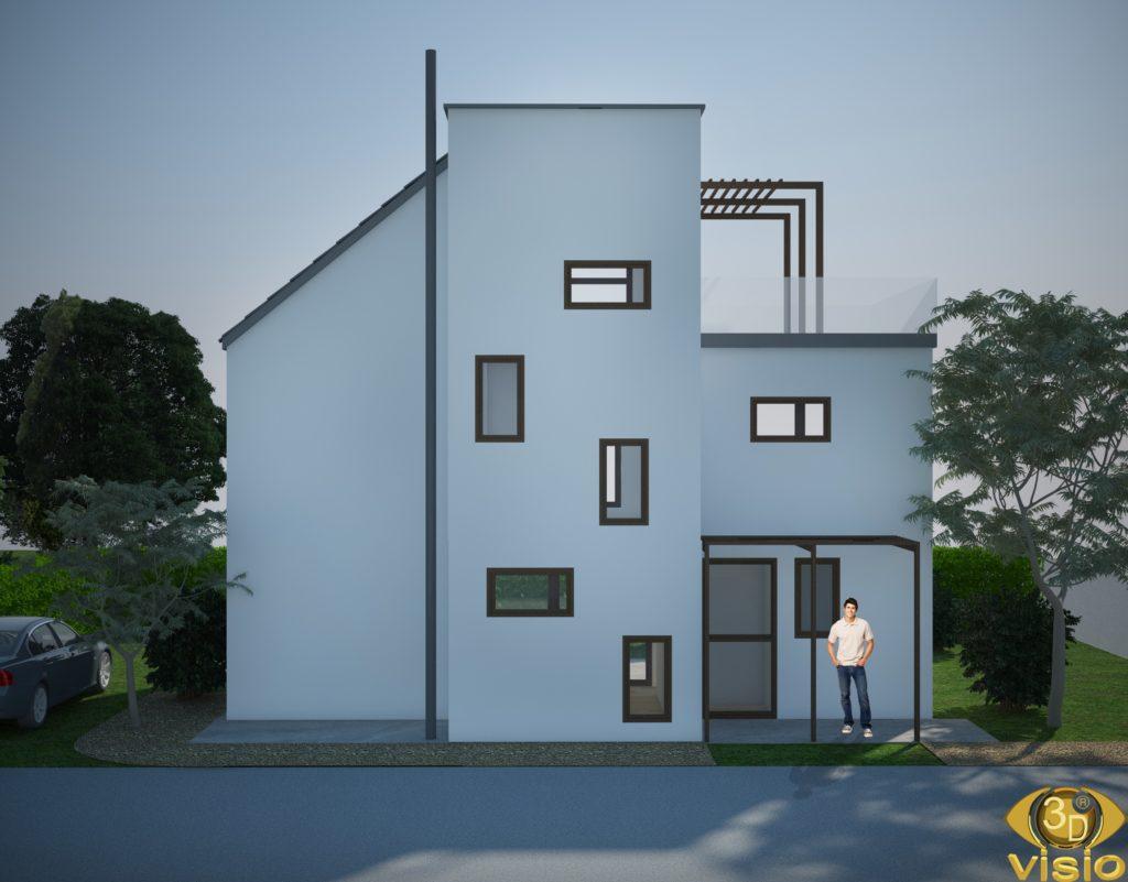 3D-визуализация дома Австрия