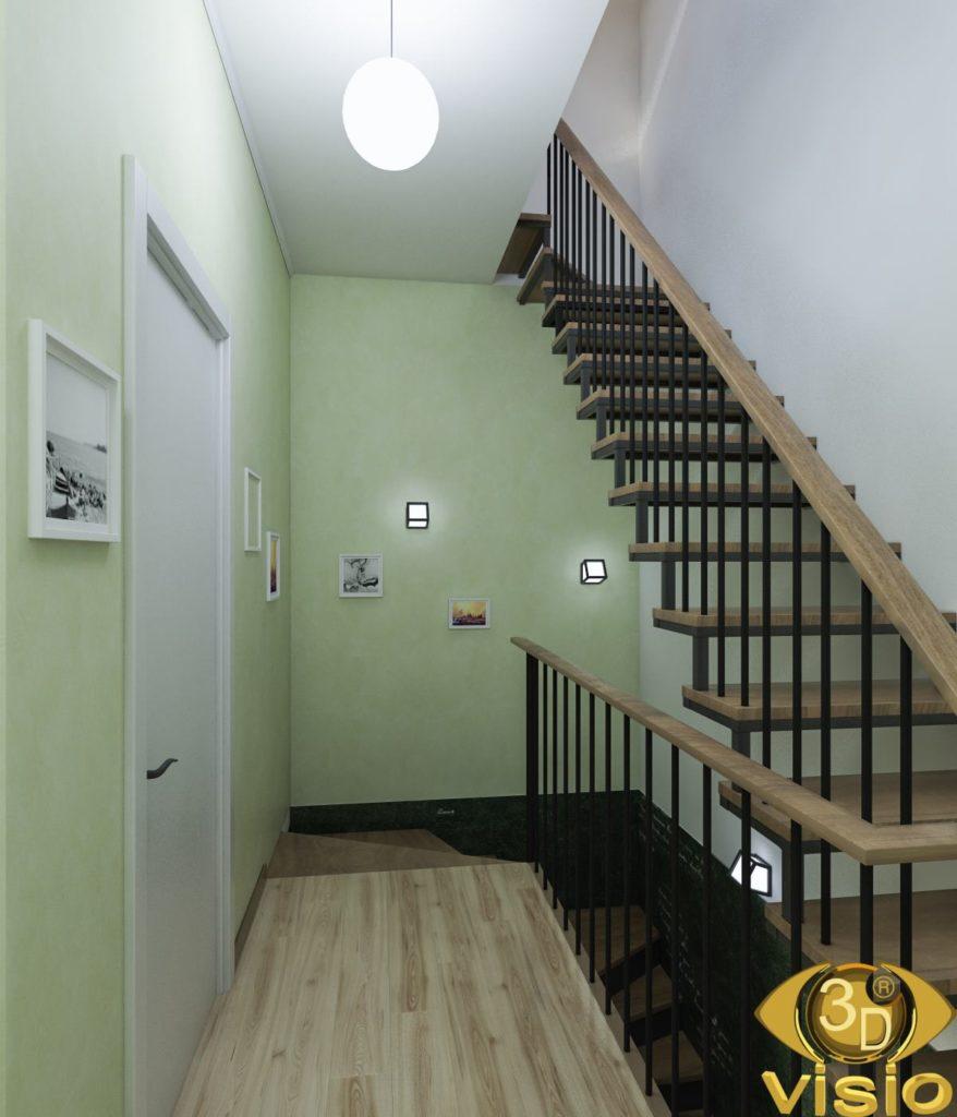 Визуализация коридора 3D