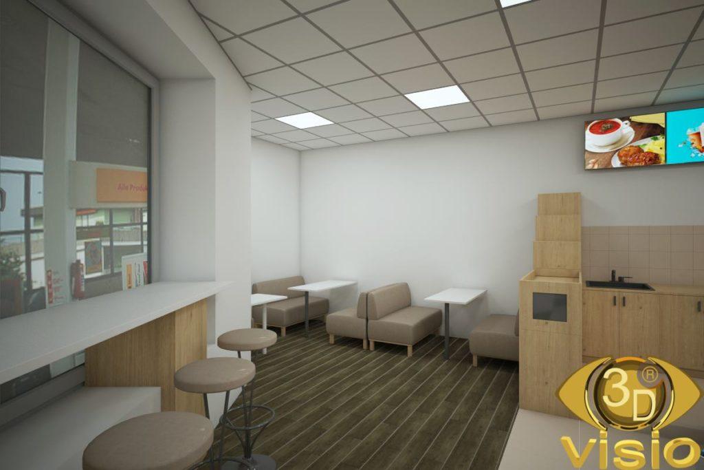 3D-визуализация заправки Shell