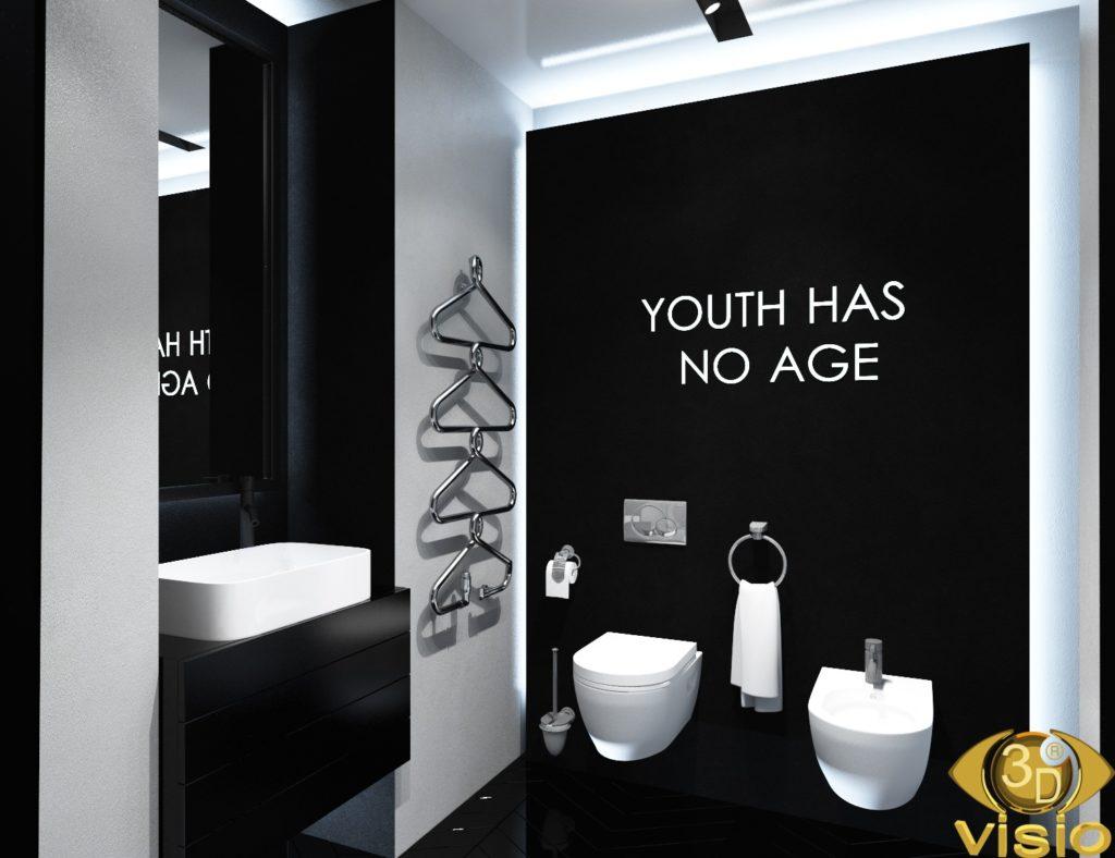 Визуализация ванной комнаты 1