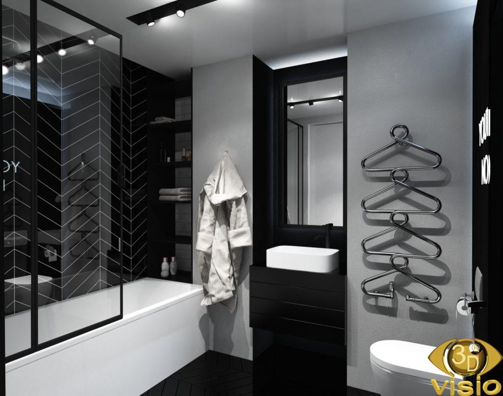 Визуализация ванной комнаты 3